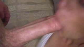 Homemade milf bj and facial
