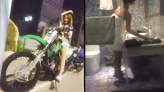 [JAV101本土精選!]上了喜歡玩重機年輕女孩 她本人騎起來性能不錯聲音響亮