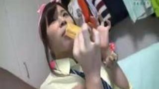 褐色ペタ乳少女 沖縄住み10人兄妹大家族の末っ子が家出ワケアリ出演 喜友名瑠璃