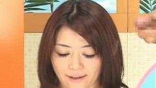 テレビアナウンサーぶっかけ顔射シーン飲精特別