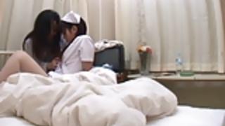深夜の東京の病院