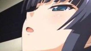 エロアニメ 美少女 清楚 おっぱい カーセックス