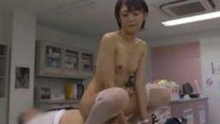 【看護婦絶頂】美女な看護婦の、絶頂プレイ動画。