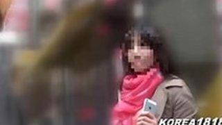 日本にセックスしにきた韓国人女子